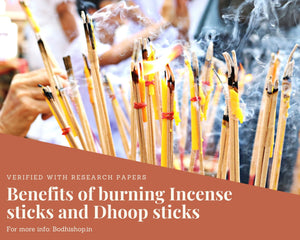 Benefits of burning agarbatti and dhoop sticks