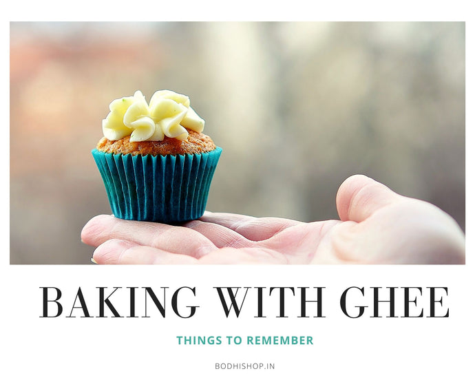 Baking with Ghee - Things to remember