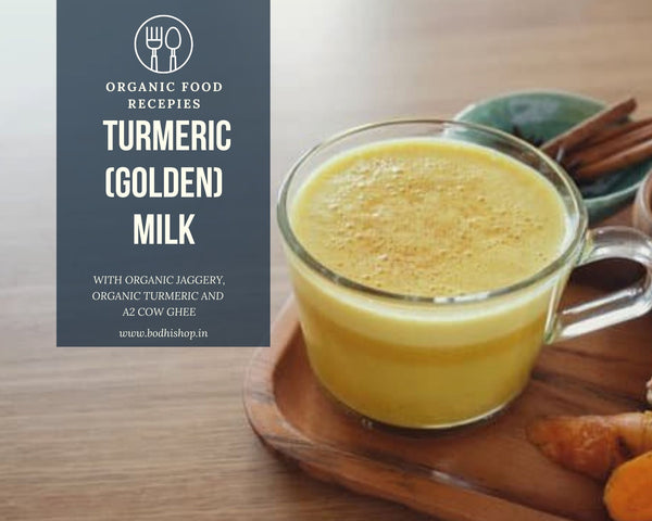 A2 Turmeric Milk or Golden Milk