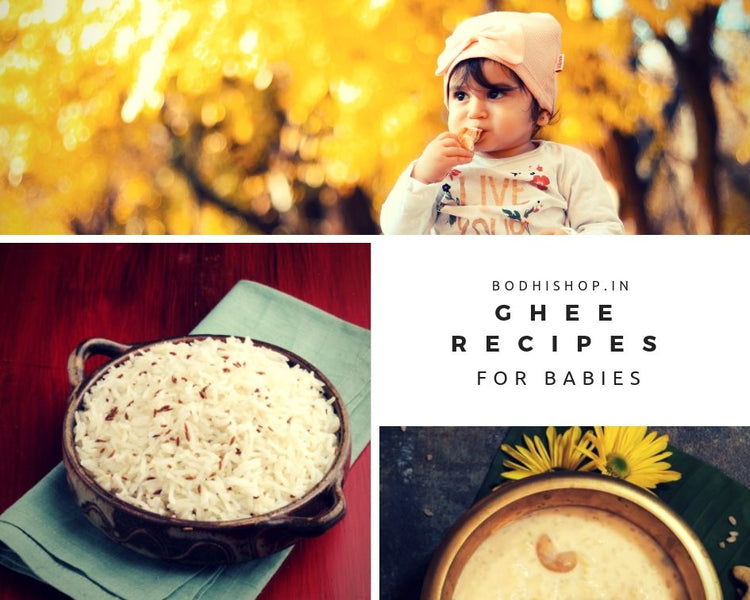 Popular Homemade Ghee Recipes for Babies and more