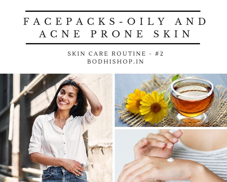 Homemade Face packs for Oily and Acne free skin
