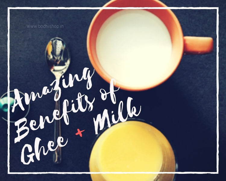 Amazing Benefits of Ghee in Milk - Detailed information