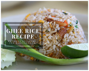 Vedic Ghee Rice Recipe