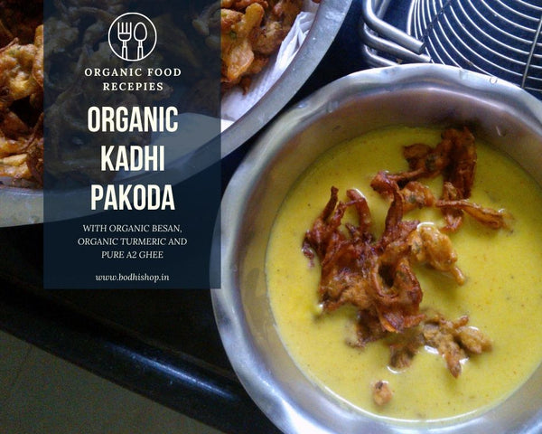 Organic Kadhi Pakoda - Authentic Punjabi Recipe