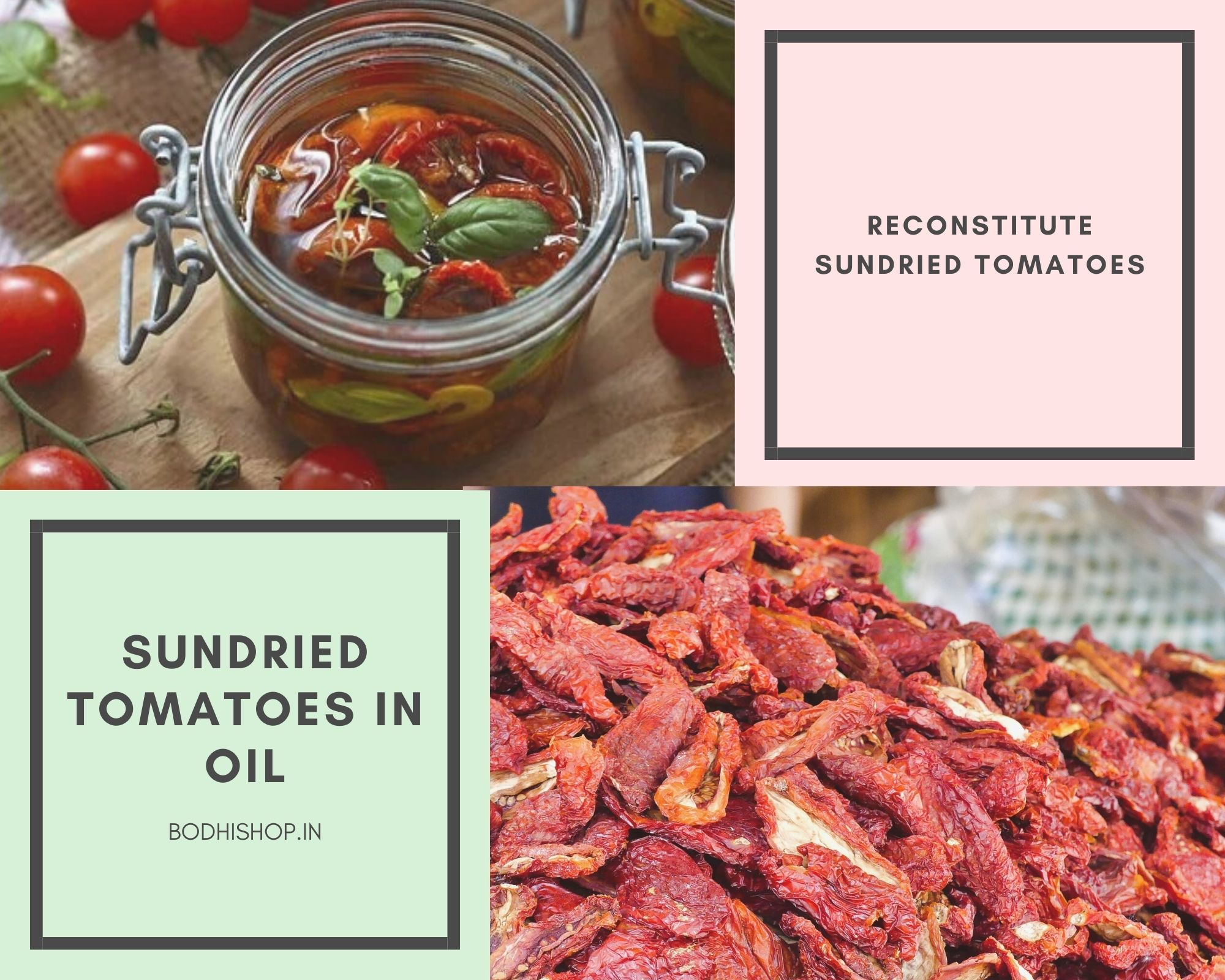 Sun-dried tomatoes in oil at home?