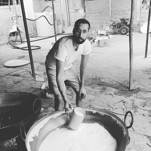 Desi Cow Ghee making training at TBOF