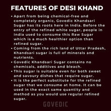 Load image into Gallery viewer, Govedic Organic Khandsari Sugar Light Muscovado in USA