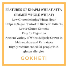 Load image into Gallery viewer, Buy organic khapli  wheat flour in Dubai