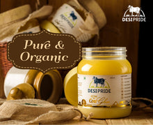 Desi Pride Ghee - 500 ml made from Gir Cow A2 Milk using Ayurvedic Process