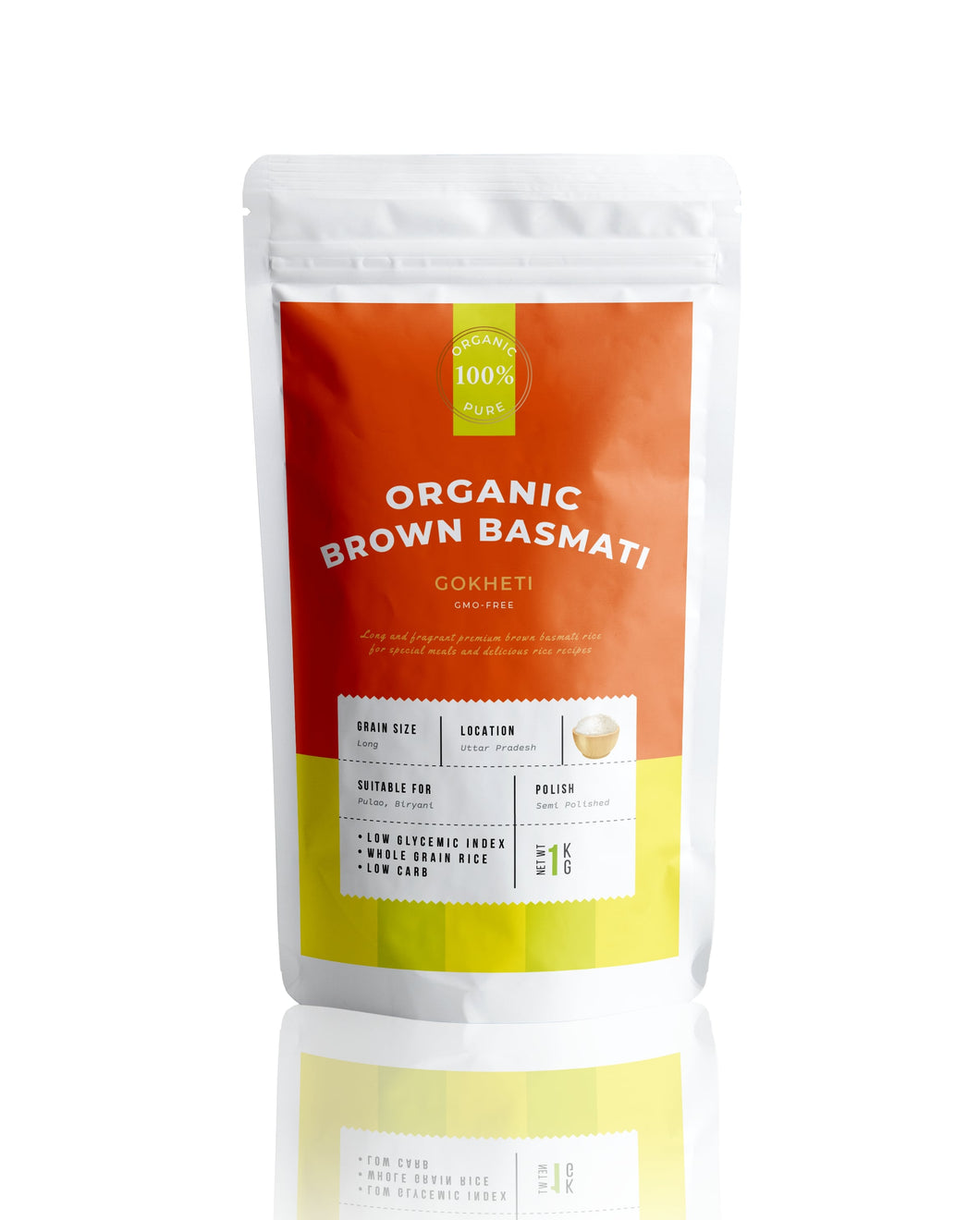 Buy Organic Brown Basmati Rice Online