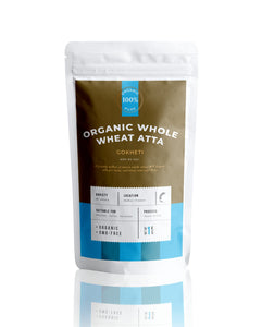 Buy Organic  Whole wheat flour atta Online