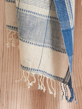 Indigo Weave Design Scarf - Kala Cotton