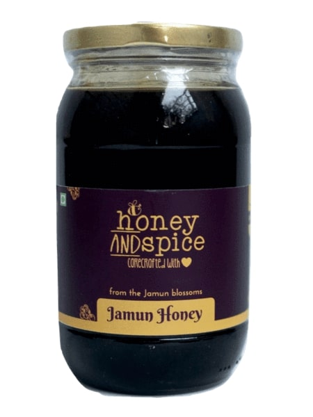 Honey and Spice ™ Raw Jamun Honey