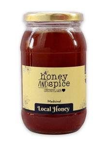 Honey and Spice ™ Raw Local Honey