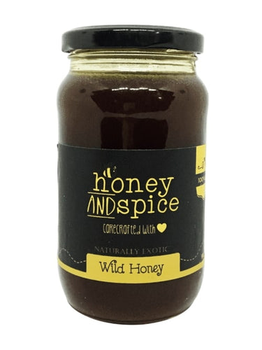 Honey and Spice ™ Raw Wild Honey