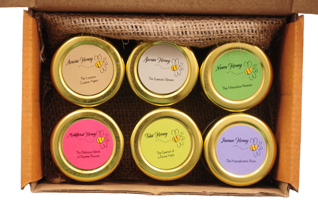 Satattva Honey Sampler Set