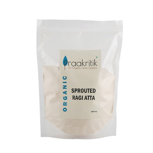 Organic Sprouted Ragi Flour 500 gms