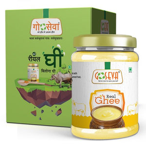 Goseva Gir Cow Real Pure Ghee