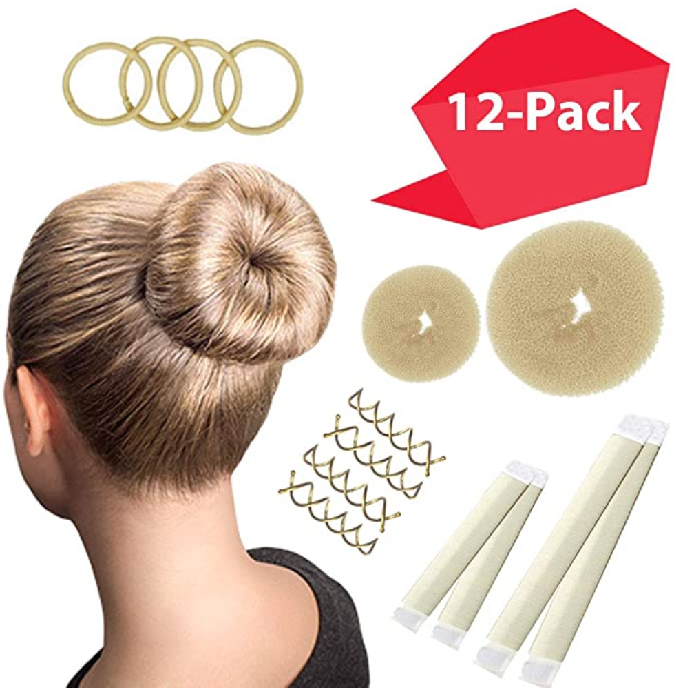 Magic Bun Maker Set, 12 Piece Set