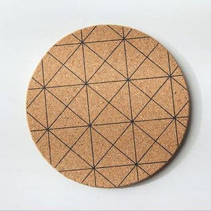 Cork Coasters (6 Styles Available)