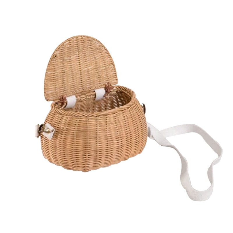 Hailey On-the-Go Wicker Storage Basket