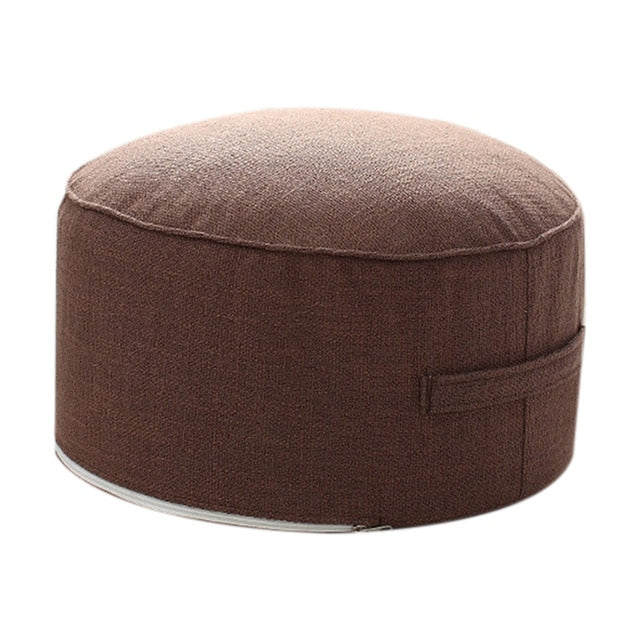 Gracie Yoga Round Cushion - Various Colours