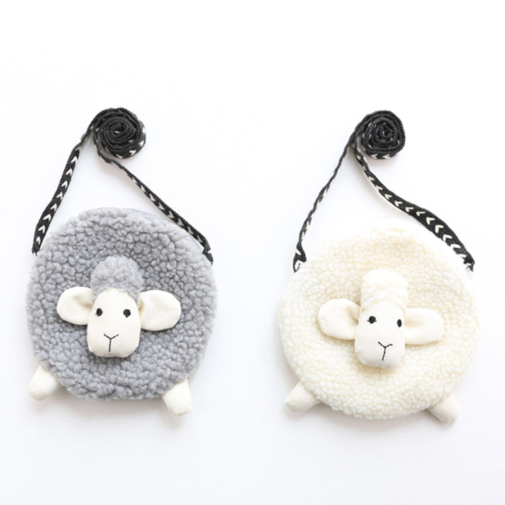 Lucy the lamb coin purse