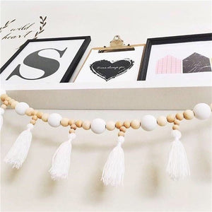 Emma Bead Garland with Tassle