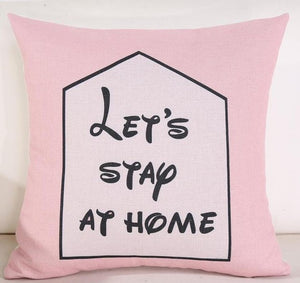Aria Series: Pink, grey toss cushion covers - Various