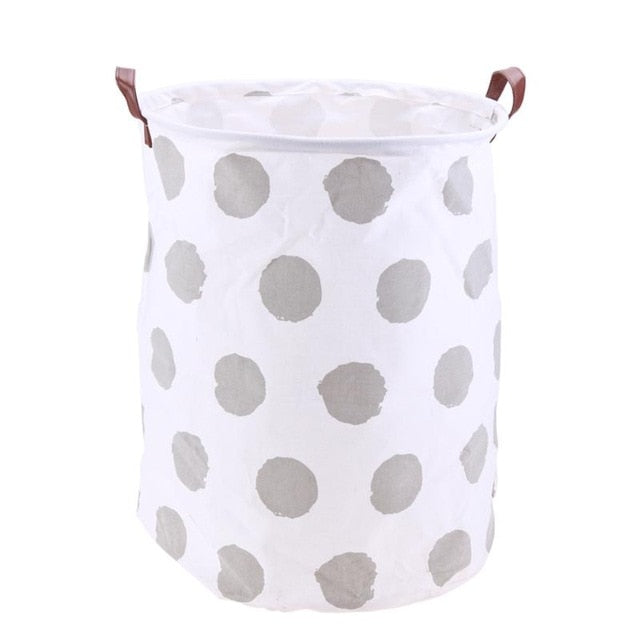 Josie Polka Dot Storage Basket
