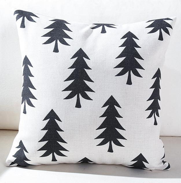 Willa Series: Black and White Cushion Covers - Various