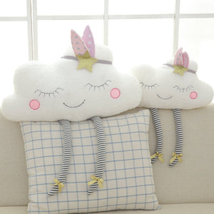Amber Clouds Plush Pillows