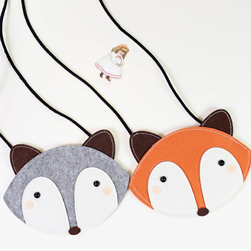 Felicia fox coin purse