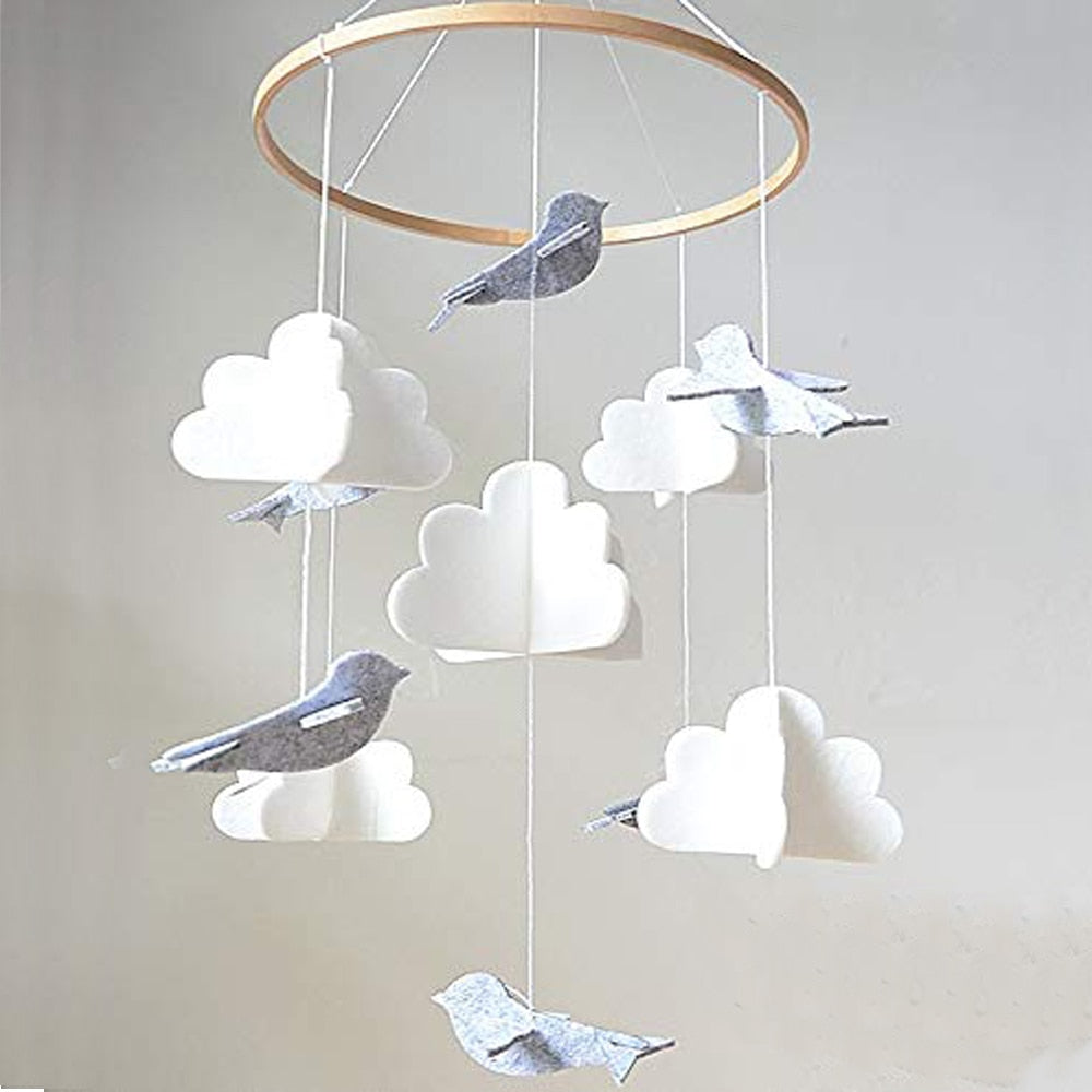 Erin Birds & Clouds Mobile