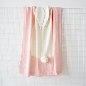 Rosie Bunny Blanket - Various Colours