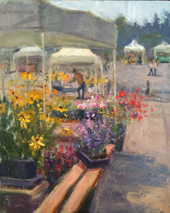 """Day 5"" 14x11 original plein air painting by Artist Kristina Sellers"
