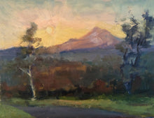 "Load image into Gallery viewer, ""Windswept Morn"" 9x12  framed original oil painting by Artist Kristina Sellers"