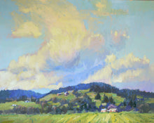 "Load image into Gallery viewer, ""Lofty Heights"" Original Oil Painting by Artist Kristina Sellers, 24x30"