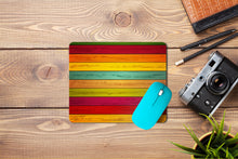 Load image into Gallery viewer, Multicolor Wooden Mouse Pad