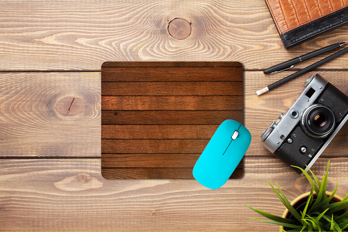 Wooden Texture Mouse Pad