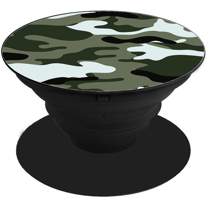 Camouflage Printed Pop Holder
