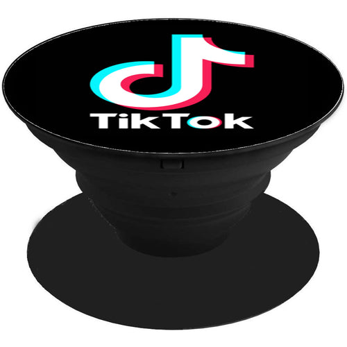 TikTok Printed Pop Holder