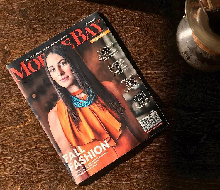 Mobile Bay Magazine Cover Feature: Eleanor Hilley of Chaleur Coffee
