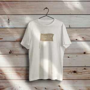 Flag T-Shirt - Oatmeal Triblend
