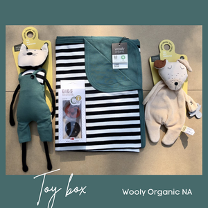 Curated Toy Box: Wooly Cat Collection