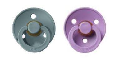 Bibs Pacifier Tiffany -Lavender combination  2 pack