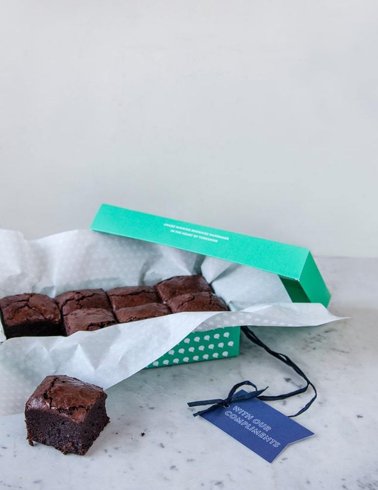Salted Caramel Classic Brownies Flavour Box -