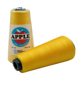 Apple Sewing Thread 3000 meters (13HF Yellow Gold)