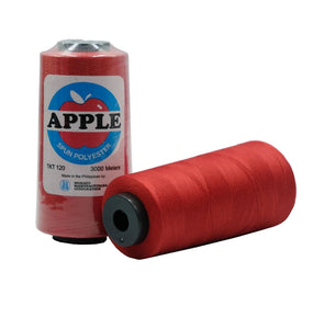 Apple Sewing Thread 3000 meters (213 Red)