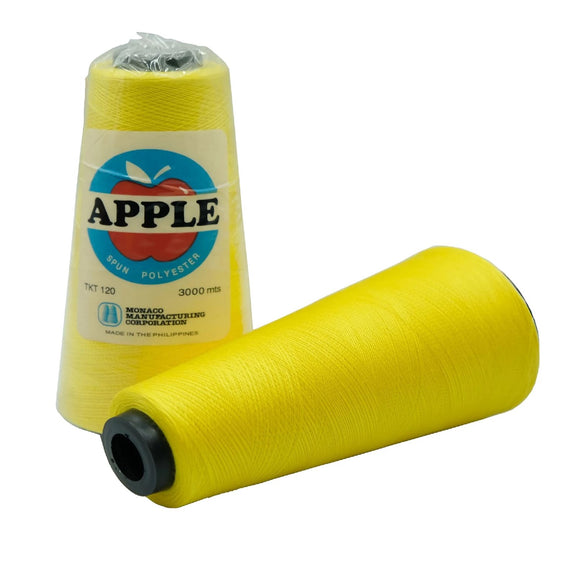 Apple Sewing Thread 3000 meters (17HF Canary Yellow)